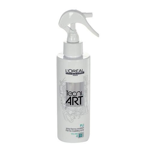 Loreal Professionnel Termo-fixare prin pulverizare pentru par cret pli (Thermo-modeling Spray) 190 ml