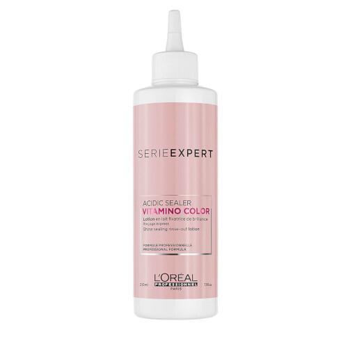 Loreal Professionnel Vlasové mléko pro uzamčení barvy Série Expert Vitamino Color Acidic Sealer (Lotion) 210 ml