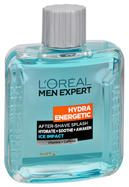 L´Oréal Paris Voda po holení Hydra Energetic Ice Impact (After-Shave Splash) 100 ml