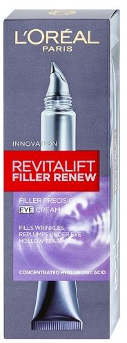 Loreal Paris Vyplňující oční krém Revitalift (Filler Renew Eye cream) 15 ml