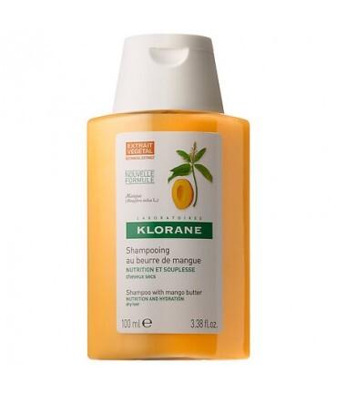 Klorane Vyživující šampon pro suché vlasy Mango (Nourishing Shampoo With Mango Butter) 25 ml