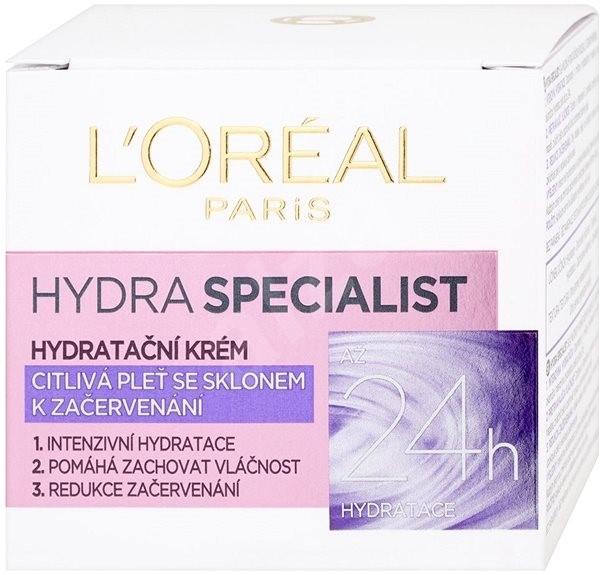 Loreal Paris Zklidňující vyživující krém proti začervenání Hydra Specialist (Skin Cream) 50 ml