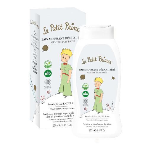 Le Petit Prince Jemná dětská koupel s výtažky z měsíčku (Gentle Baby Bath) 250 ml