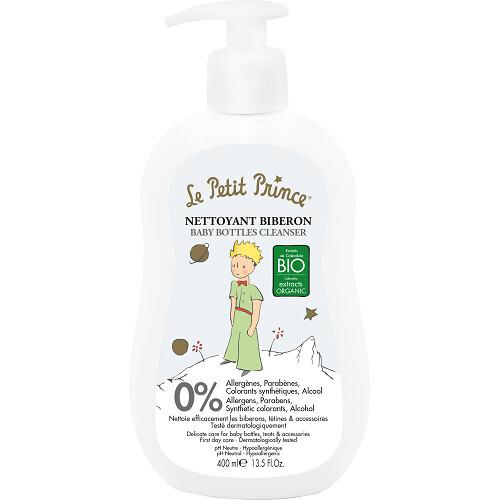 Le Petit Prince Přípravek na čištění kojeneckých lahví, hraček a dětského nádobí (Baby Bottles Cleanser) 400 ml