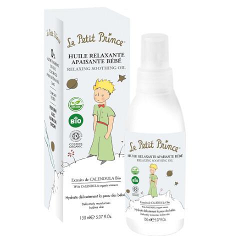 Le Petit Prince Relaxační masážní olej pro děti s výtažky z měsíčku (Relaxing Soothing Oil) 150 ml