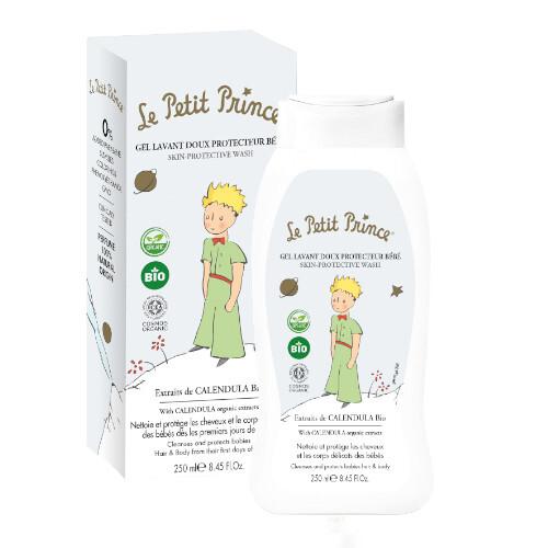 Le Petit Prince Sprchový gel pro děti na tělo a vlasy s výtažky z měsíčku (Skin Protective Wash) 250 ml