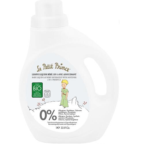 Le Petit Prince Tekutý prací gel pro děti se změkčovačem (Baby Liquid Laundry Detergent With Softener) 1000 ml