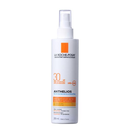 La Roche Posay Sprej na opaľovanie na tvár a telo SPF 30 Anthelios (Spray) 200 ml