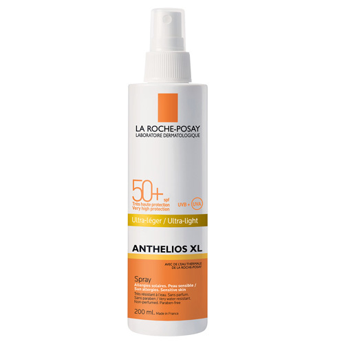La Roche Posay Ultra lehký opalovací sprej SPF 50+ Anthelios XL (Ultra Light) 200 ml