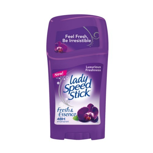 Lady Speed Stick Tuhý antiperspirant s vůní orchideje (Fresh & Essence 48H Antiperspirant Black Orchid) 45 g