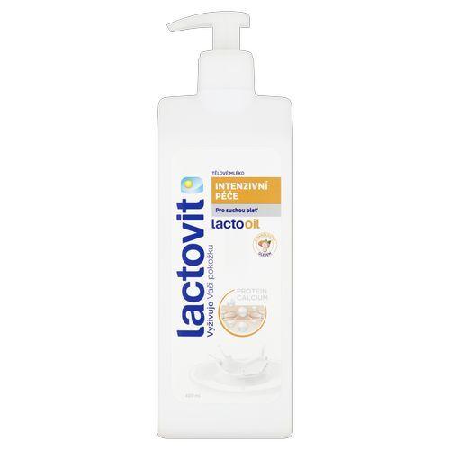 Lactovit Tělové mléko Intenzivní péče LACTOOIL (Body Milk) 400 ml