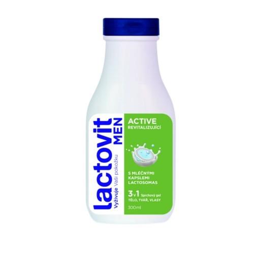 Lactovit Revitalizující sprchový gel pro muže Men Active 300 ml