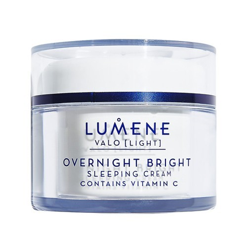 Lumene Rozjasňujúci nočný krém s vitamínom C Light (Overnight Bright Sleeping Cream Contains Vitamin C) 50 ml