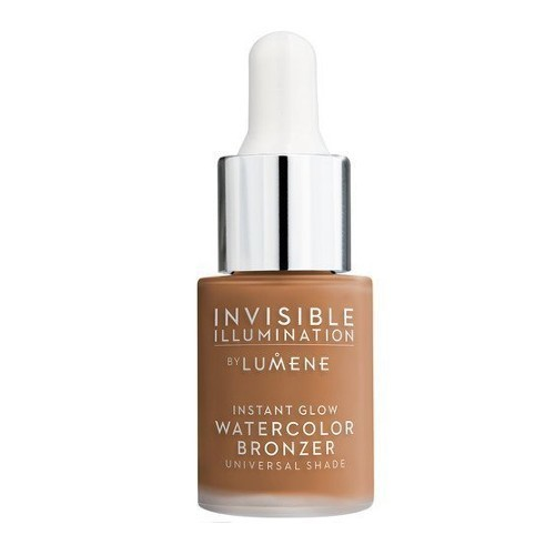 Lumene Tekutý bronzer (Invisible Illumination Instant Glow Watercolor Bronze r) 15 ml