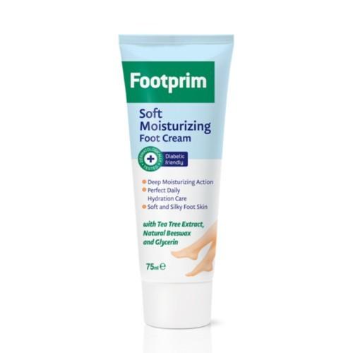 Lavena Hebký zvláčňujúci krém na nohy s výťažkom z čajovníka Footprim (Soft Moisturizing Foot Cream) 75 ml