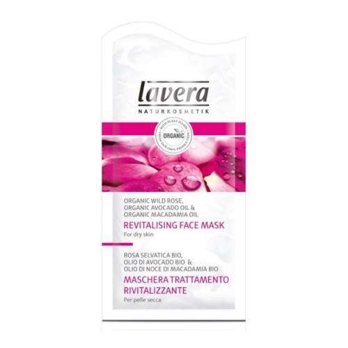 Lavera Hydratační maska Bio divoká růže pro suchou pleť (Revitalising Face Mask) 2 x 5 ml