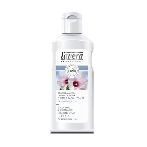 Lavera Hydratující pleťová voda Bio sléz & Bio mandle pro normální a suchou pleť (Gentle Facial Toner) 125 ml