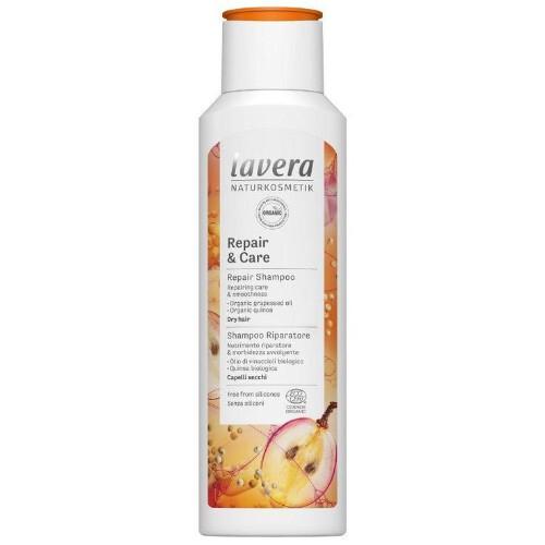 Lavera Intenzívne šampón pre pre suché a namáhané vlasy ( Repair & Care ) 250 ml