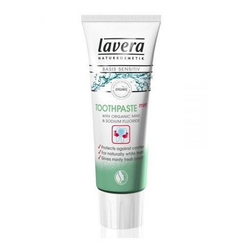 Lavera Mátová zubní pasta Basis Sensitiv 75 ml