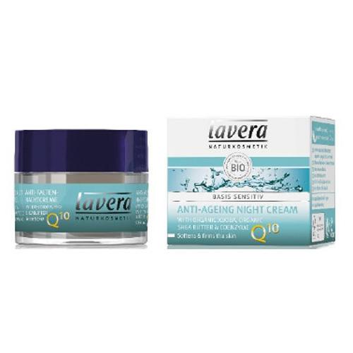Lavera Nočný pleťový krém s koenzýmom Q10 (Anti-Ageing Night Cream) 50 ml