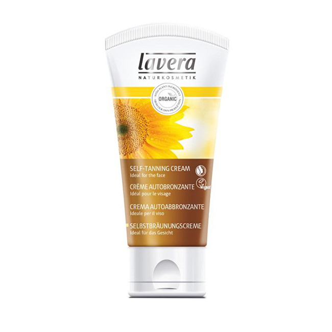 Lavera Samoopalovací pleťový krém Sun (Self-Tanning Cream) 50 ml