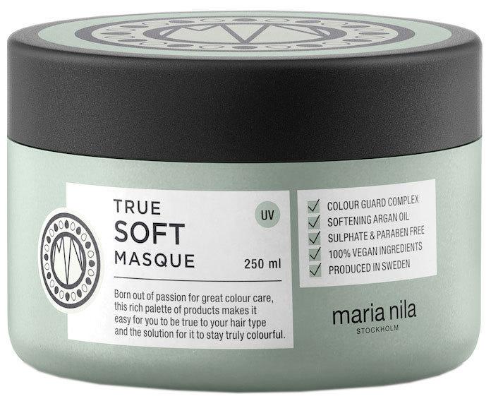 Maria Nila Hydratační maska s arganovým olejem na suché vlasy True Soft (Masque) 250 ml