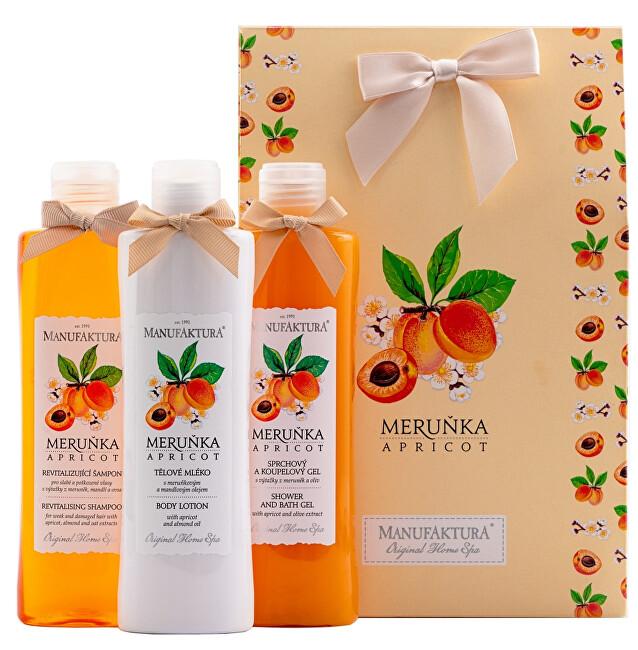 MANUFAKTURA Kosmetická sada sladké péče Meruňka
