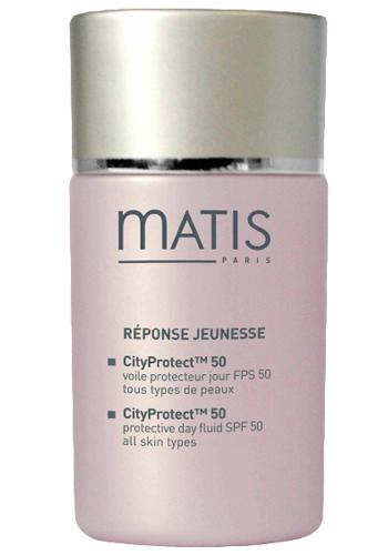 Matis Paris Ochranný fluid pro všechny typy pleti CityProtect TM 50 SPF 50 Réponse Jeunesse (Protective Day Fluid) 30 ml