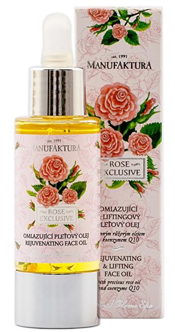 MANUFAKTURA Omladzujúci pleťový olej s ružou 30 ml