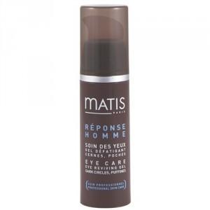 Matis Paris Povzbuzující oční gel pro muže proti tmavým kruhům a otokům Réponse Homme (Eye Care -Reviving Gel Dark Cirkles, Puffines) 15 ml