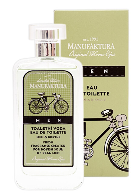 MANUFAKTURA Toaletní voda Men  Bicycle 100 ml