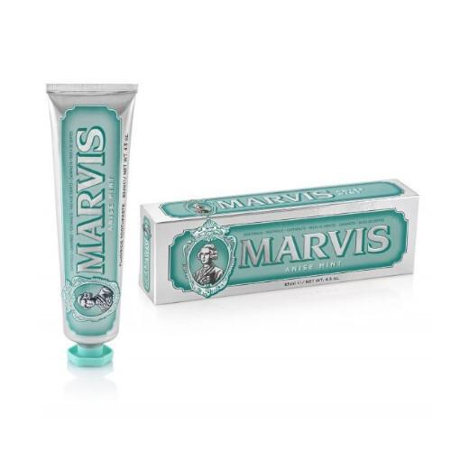 Marvis Zubní pasta s xylitolem s příchutí anýzu a máty (Anise Mint Toothpaste) 85 ml