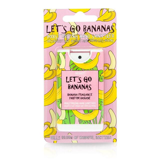 Mad Beauty Hydratační dezinfekční sprej na ruce Let´s Go Bananas 15 ml