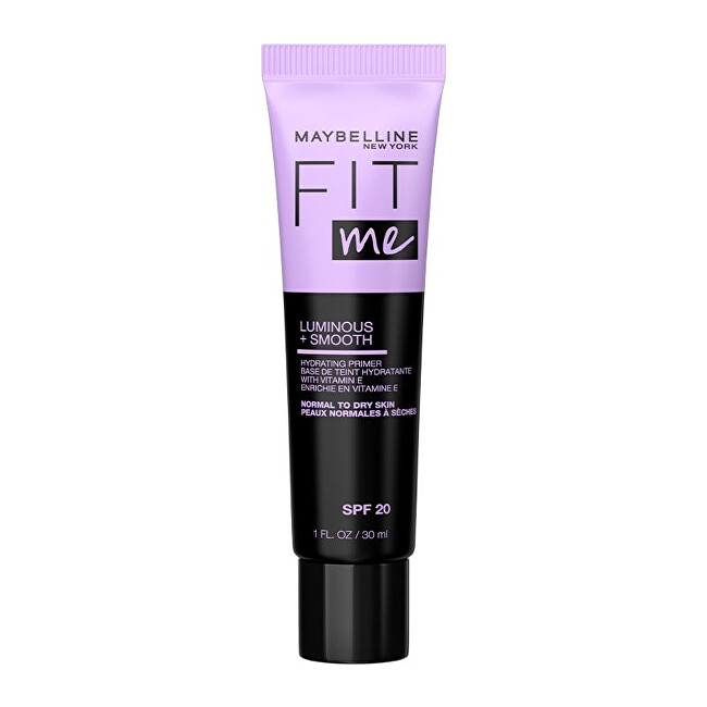 Maybelline Rozjasňující podkladová báze pod makeup Fit Me Luminous  Smooth Hydrating Primer 30 ml