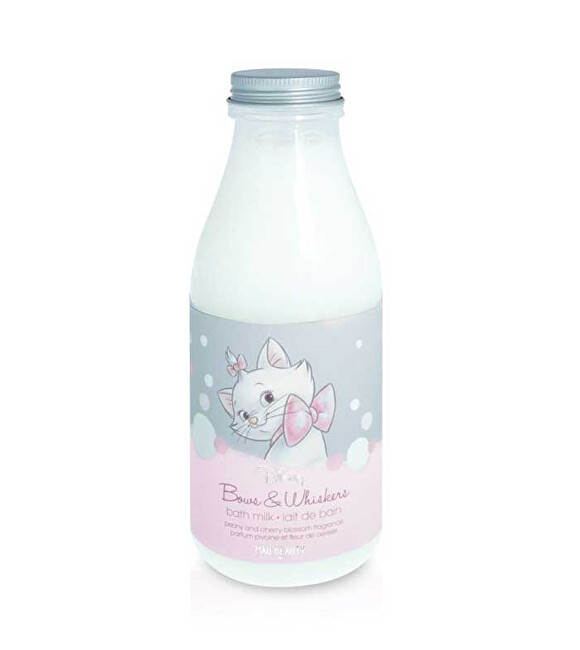 Mad Beauty Mléko do koupele Disney The Aristocats Marie Bath Milk 375 ml