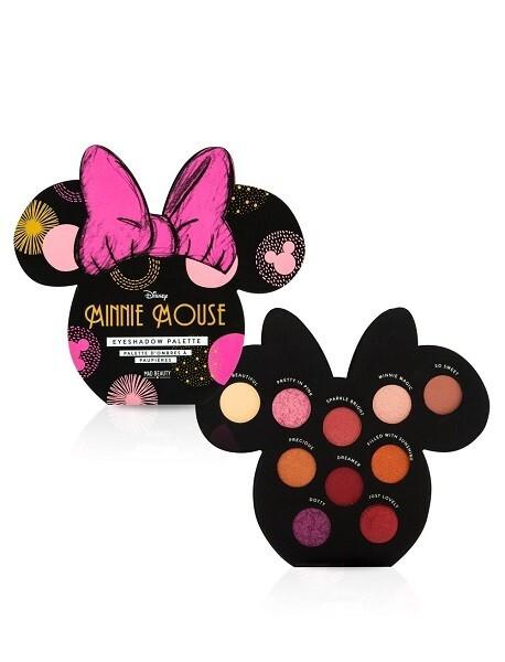 Mad Beauty Paletka očních stínů Disney Minnie Mouse (Eyeshadow Pallete) 10 x 1,3 g