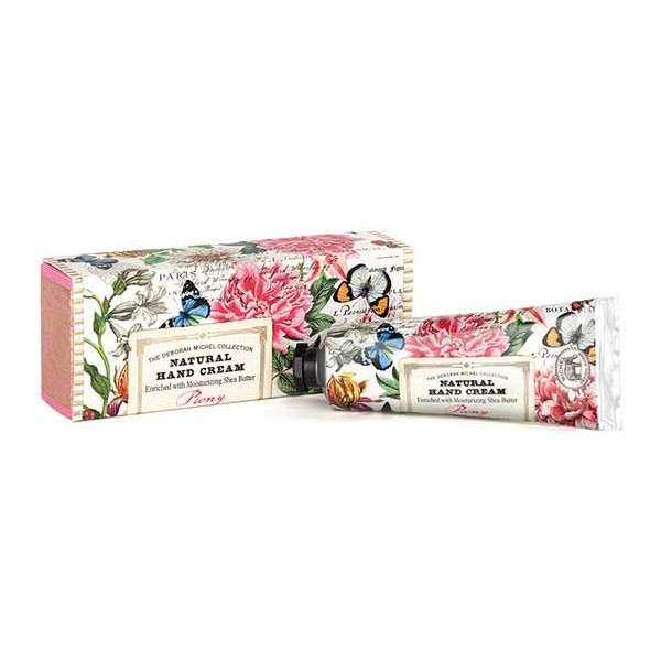 Michel Design Works Hydratační krém na ruce Peony (Natural Hand Cream) 59,5 g