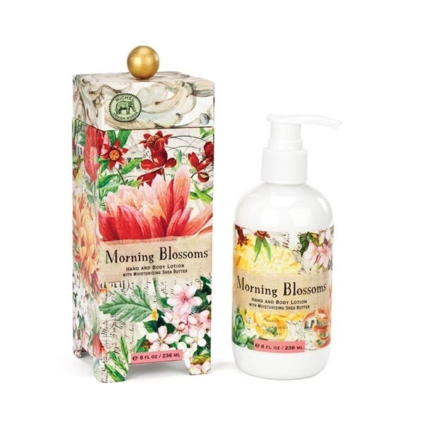 Michel Design Works Hydratační mléko na ruce a tělo Morning Blossoms (Morning Blossoms Hand And Body Lotion) 236 ml