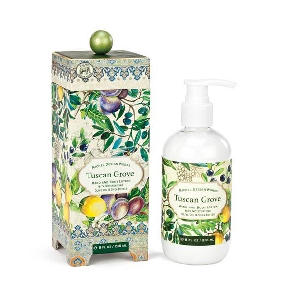 Michel Design Works Hydratační mléko na ruce a tělo Tuscan Grove (Tuscan Grove Hand And Body Lotion) 236 ml
