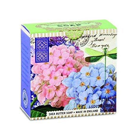 Michel Design Works Luxusní mýdlo v elegantní krabičce Hortenzie (Shea Butter Soap) 100 g