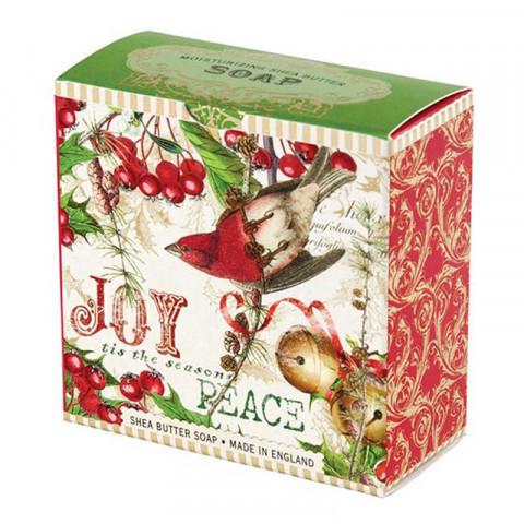 Michel Design Works Luxusní mýdlo v elegantní krabičce Jmelí a Cesmína (Shea Butter Soap) 100 g