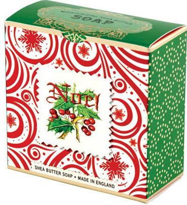 Michel Design Works Luxusní mýdlo v elegantní krabičce Noel (Shea Butter Soap) 100 g