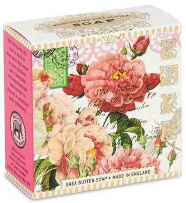 Michel Design Works Luxusní mýdlo v elegantní krabičce Růže (Shea Butter Soap) 100 g
