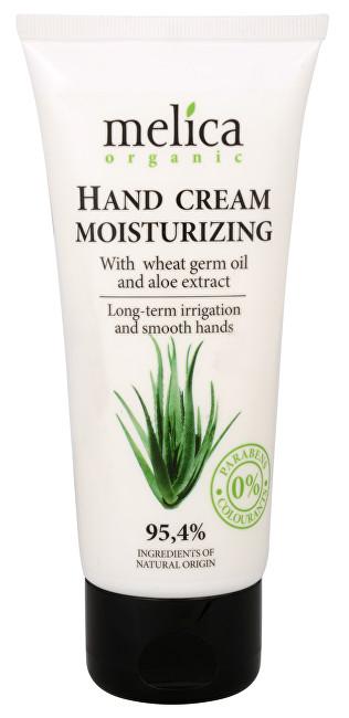 Melica Hydratační krém na ruce s olejem zpšeničných klíčků a extraktem Aloe Vera 100 ml