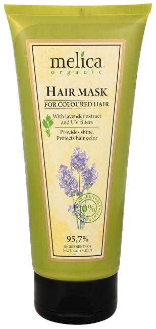Melica Maska na barvené vlasy s extraktem levandule a UV filtry 200 ml