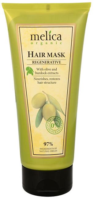 Melica Regenerační maska na vlasy s extraktem z oliv a lopuchu 200 ml