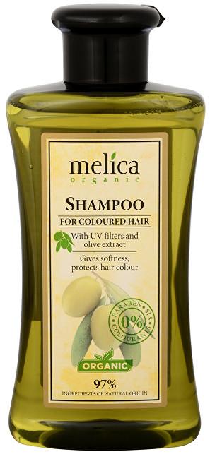 Melica Šampon na barvené vlasy s UV filtry a extraktem z oliv 300 ml