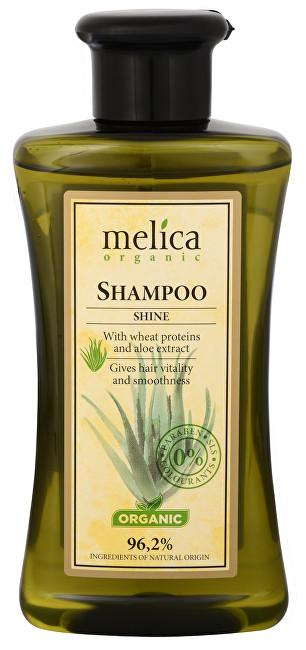 Melica Šampon na vlasy Lesk s pšeničnými proteiny a extraktem Aloe Vera 300 ml