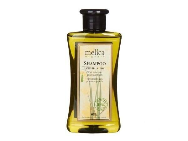 Melica Šampon proti vypadávání vlasů s extraktem žita a puškvorce 300 ml