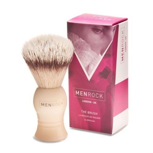 Men Rock Štětka na holení se syntetickými vlákny (The Brush)